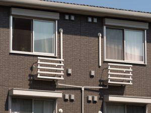 アパートの外観写真